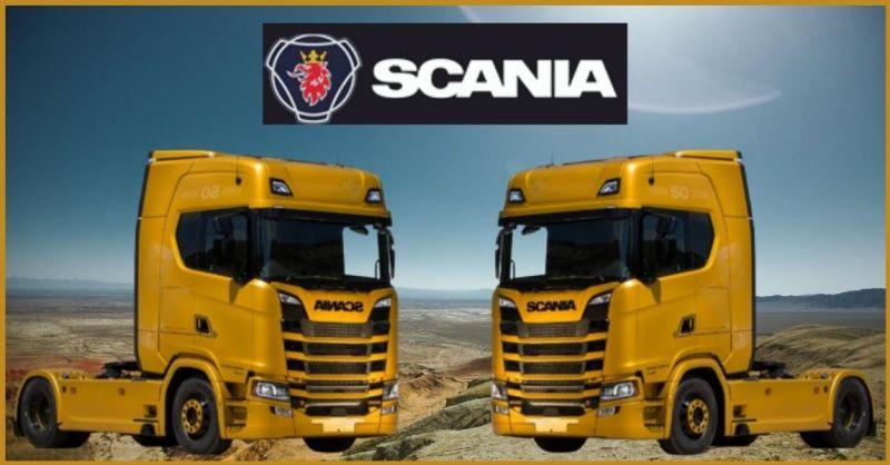 OFFICINA AUTORIZZATA SCANIA - offerta riparazione motori Scania Lucca e Versilia