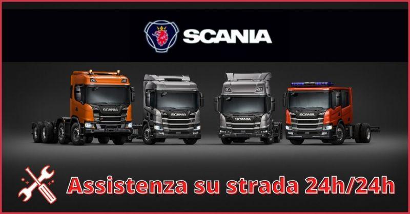 offerta assistenza su strada veicoli Scania 24h Lucca e Massa Carrara
