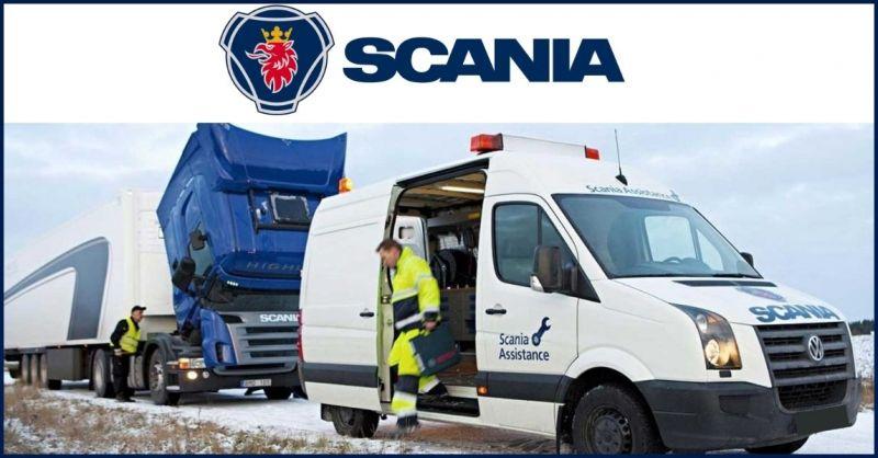 offerta assistenza mobile veicoli industriali Scania Lucca e Massa Carrara - OFFICINA CAPOVANI