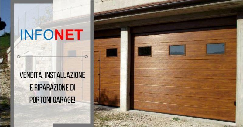 Offerta riparazione portoni sezionali Vicenza - occasione vendita serrande per garage Verona