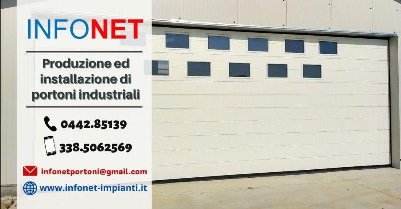 Offerta vendita installazione portoni industriali Padova - Occasione portoni per capannoni industriali Vicenza