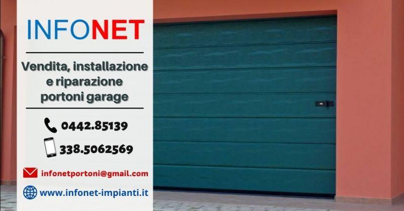 Offerta servizio riparazione portone garage Padova - Occasione riparazione porte basculanti garage Vicenza