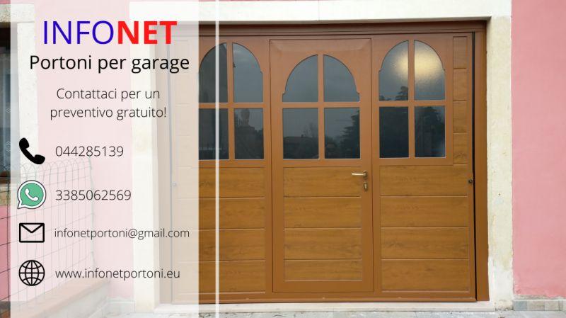 Promozione vendita online portoni per garage Padova