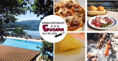 hotel gusana gavoi offerta ristorante rinomato cucina tipica barbaricina