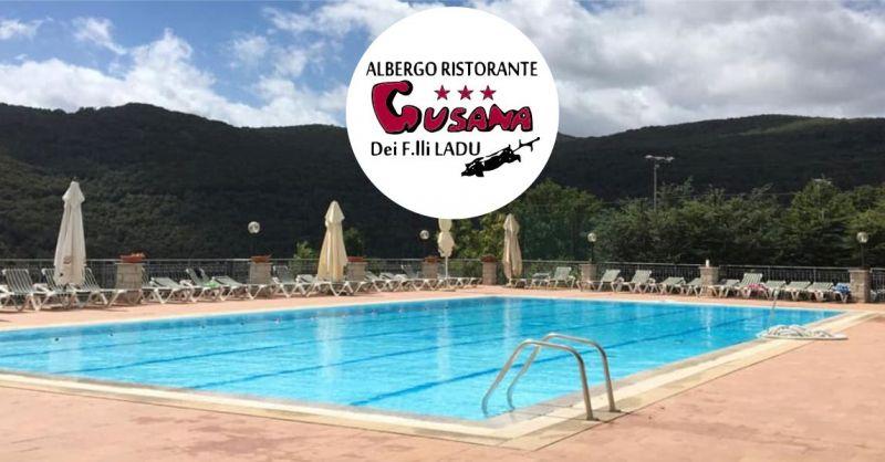 HOTEL GUSANA Gavoi - offerta albergo ristorante con piscina semiolimpionica all aperto