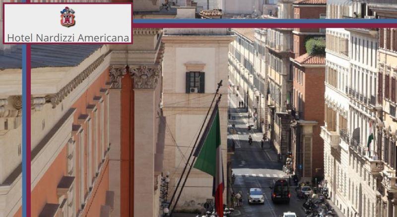 HOTEL NARDIZZI AMERICANA ROMA - Offerta alloggio vicino Via Nazionale e Piazza della Repubblica