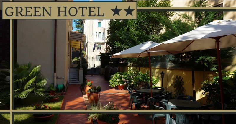GREEN HOTEL A ROMA - Offerta dormire B&B con giardino vicino università Luiss Policlinico Roma