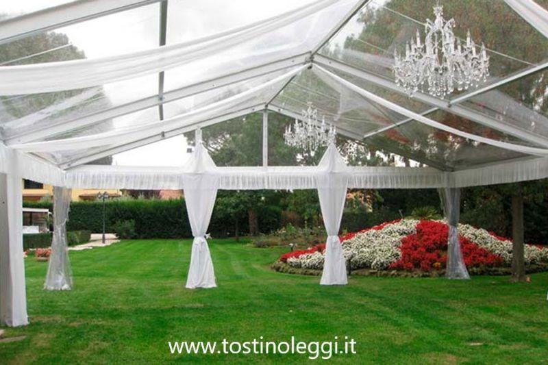 TOSTI NOLEGGI offerta noleggio tensostrutture modulari e allestimenti per matrimoni Marsciano