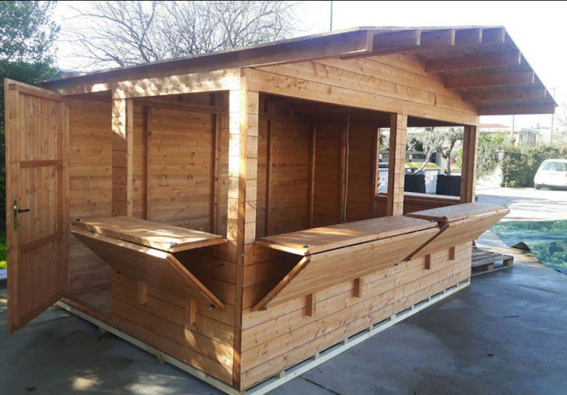 TOSTI NOLEGGI offerta noleggio chioschi in legno Gubbio