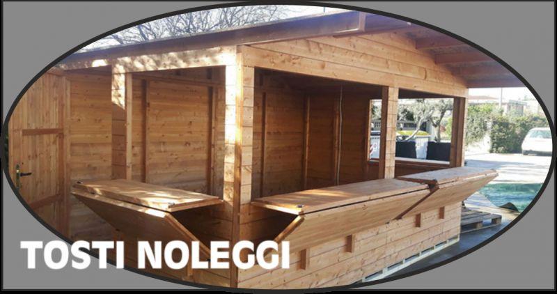 tosti offerta noleggio chioschi in legno - occasione noleggio chiosco mercatini perugia