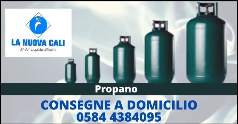 offerta vendita bombole propano GPL Lucca e Versilia - LA NUOVA CALI