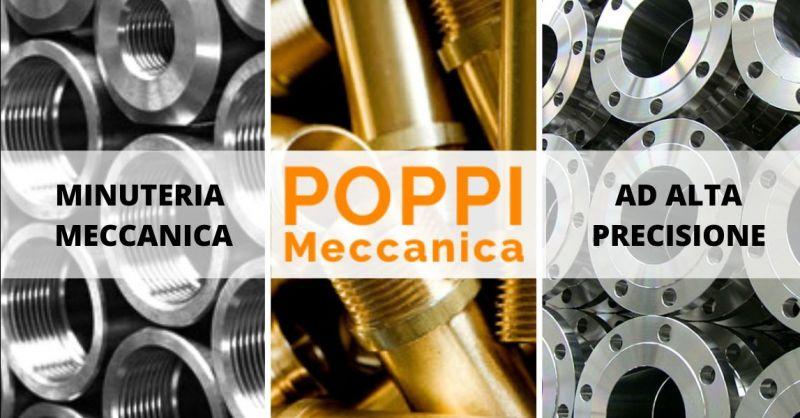 POPPI FRANCO - Offerta azienda specializzata nella produzione minuterie tornite di precisione