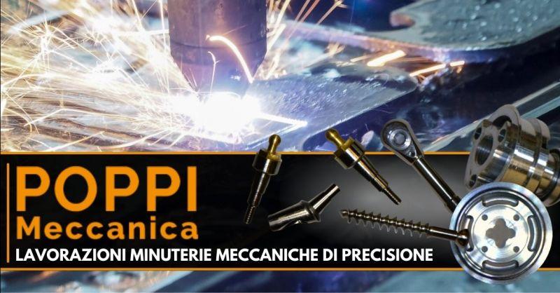 POPPI FRANCO - Offerta azienda specializzata nella lavorazione minuteria meccanica di precisione Modena