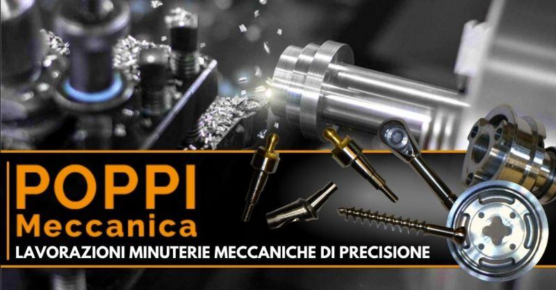 Offerta produzione minuterie meccaniche di precisione - Occasione tornitura minuteria metallica Modena