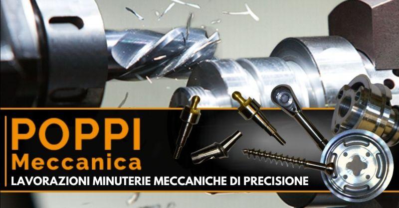Offerta lavorazione acciai speciali per l'industria - Occasione produzione minuterie tornite di precisione Modena