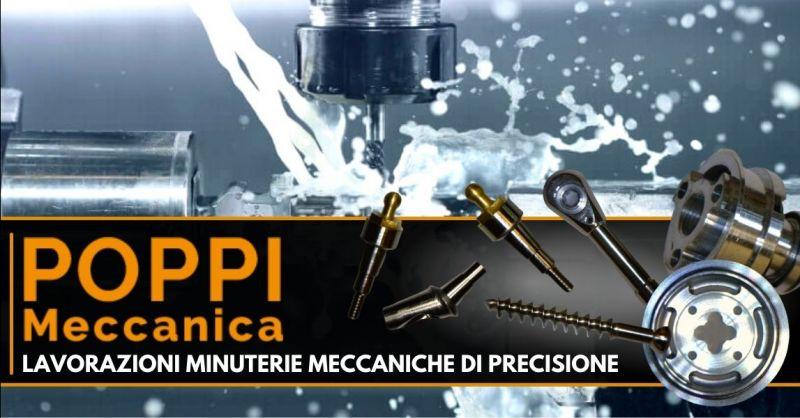 Offerta produzione minuterie meccaniche su disegno - Occasione fornitura minuteria metallica Modena