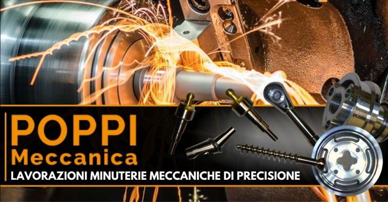 Offerta produzione minuterie metalliche - Occasione lavorazioni meccaniche di precisione Modena