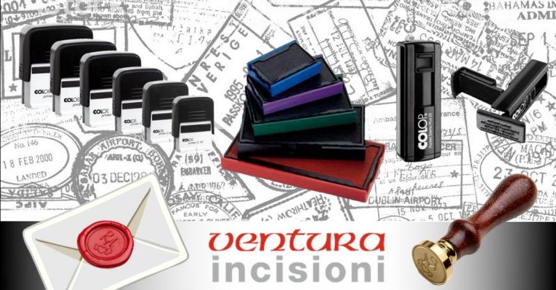 Offerta fornitura timbri personalizzati - occasione timbri in gomma ottone ceralacca Bologna