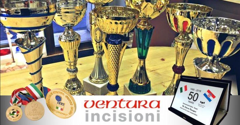 Offerta personalizzazione coppe trofei medaglie - occasione realizzazione premiazioni Bologna