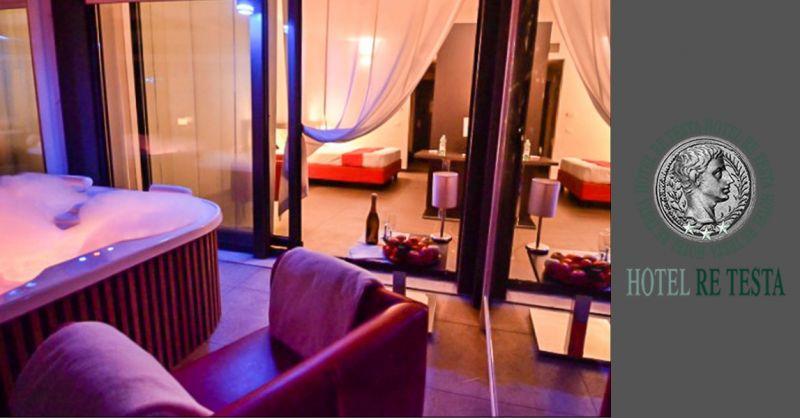 SUITES IDROMASSAGGIO ROMA - Idea week-end romantico a Roma in Hotel con idromassaggio Jacuzzi