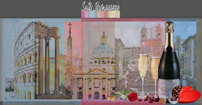 SUITES IDROMASSAGGIO ROMA - Occasione week-end a Roma in suite con vasca idromassaggio Jacuzzi