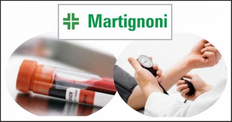 farmacia martignoni offerta analisi del sangue - occasione holter fosdinovo