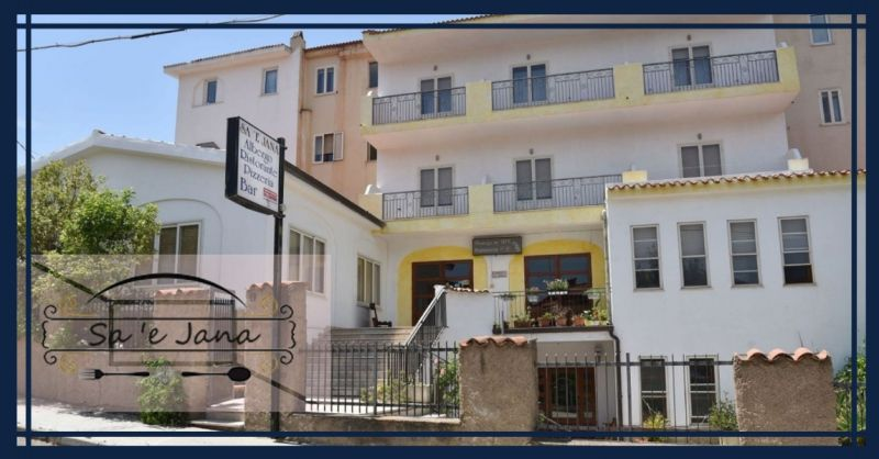 Hotel Restaurant Pizzeria SA'E JANA - Übernachtungsangebot im Herzen der Barbagia-Region
