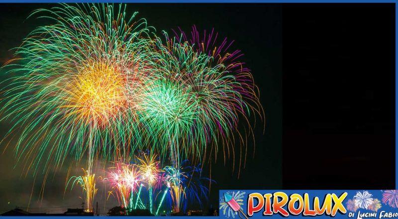 Offerta vendita fuochi d'artificio Roma - Promozione prodotti pirotecnici Nettuno