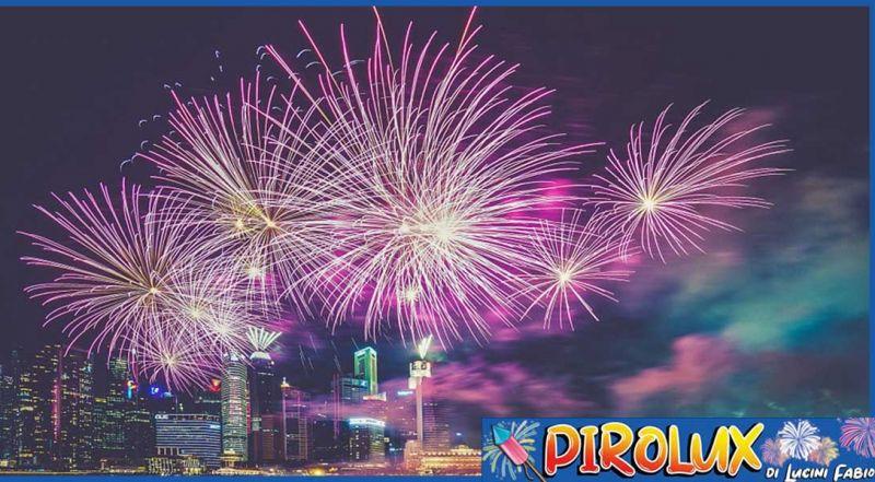 Offerta spettacoli pirotecnici Castelli Romani - Promozione vendita fuochi d'artificio Latina
