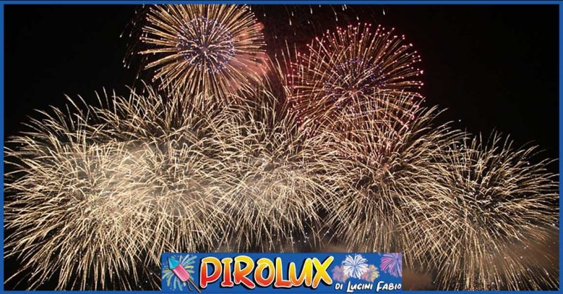 Offerta fuochi d'artificio anniversario di nozze Anzio - Promozione spettacoli pirotecnici Nettuno