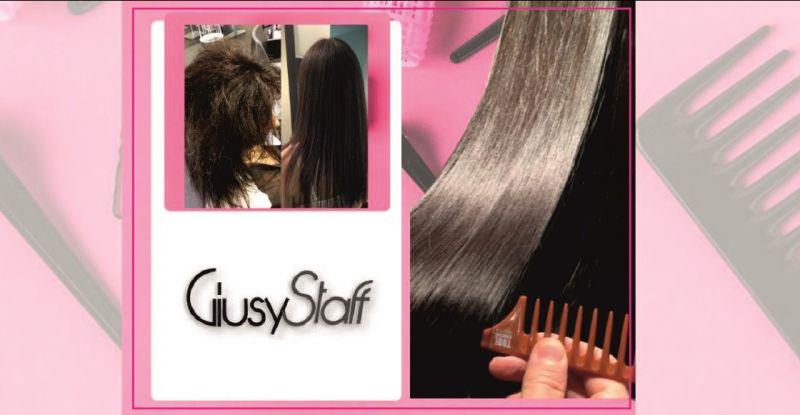 Occasione trattamento lisciante arginina parrucchiere Prato - GIUSY STAFF parrucchieri