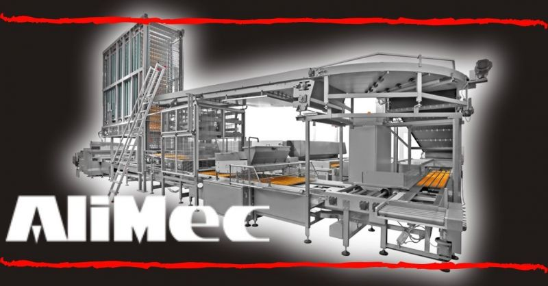 ALIMEC - Offer Automatic Line for industrial production of  Magdalena Brownie made in Italy