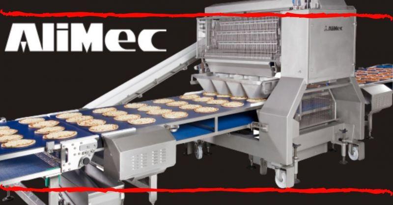 ALIMEC - Jalur otomatis untuk Topping Pizza - Perusahaan produksi jalur topping pizza otomatis terbaik