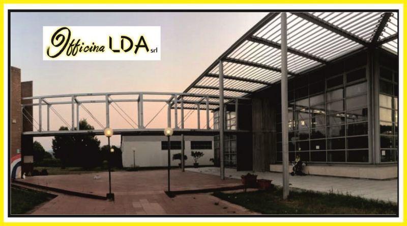 offerta carpenteria metallica ad uso civile e industriale  – OFFICINA LDA