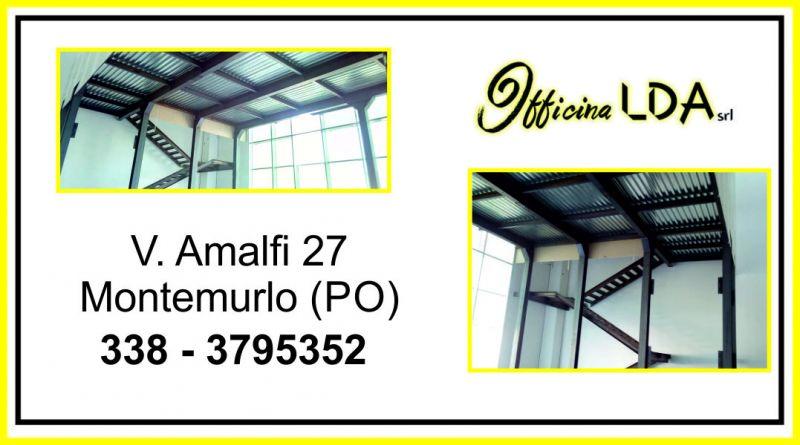 offerta progettazione produzione e montaggio soppalchi in carpenteria metallica - OFFICINA LDA