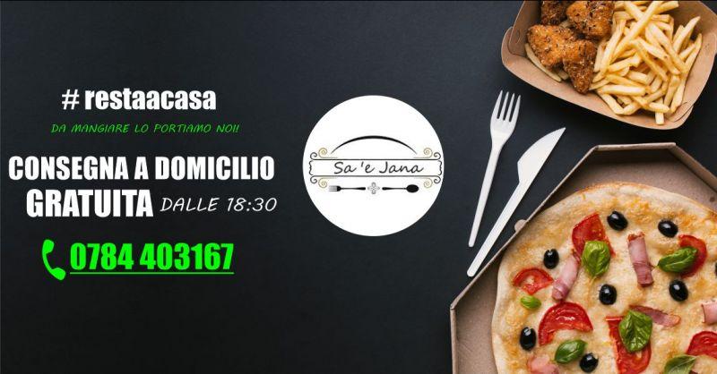 Sa e Jana Orgosolo -  offerta pizzeria servizio di consegna a domicilio gratuito