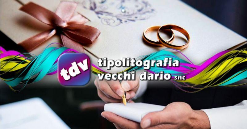Offerta realizzazione partecipazioni di nozze - promozione stampa blocchi comande Bologna