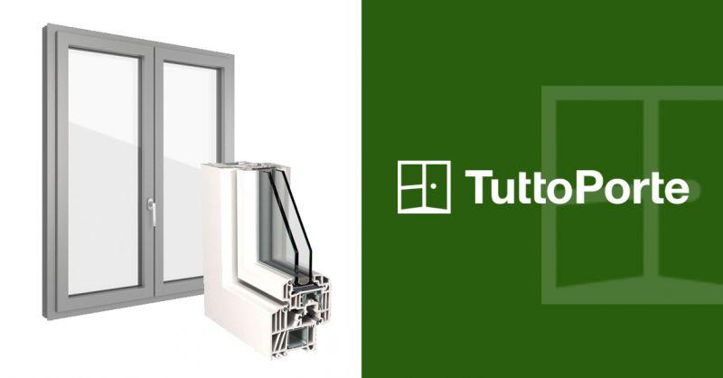 Offerta Vendita Infissi Serramenti PVC Torino - Occasione Porte Finestre PVC Torino