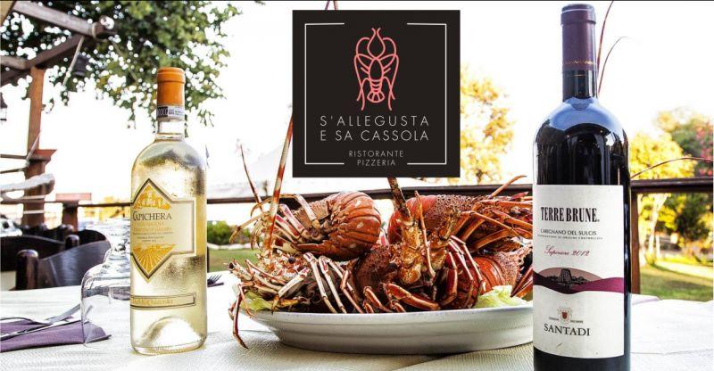 S Allegusta e Sa Cassola - offerta storico ristorante di pesce spiaggia di Porto Corallo