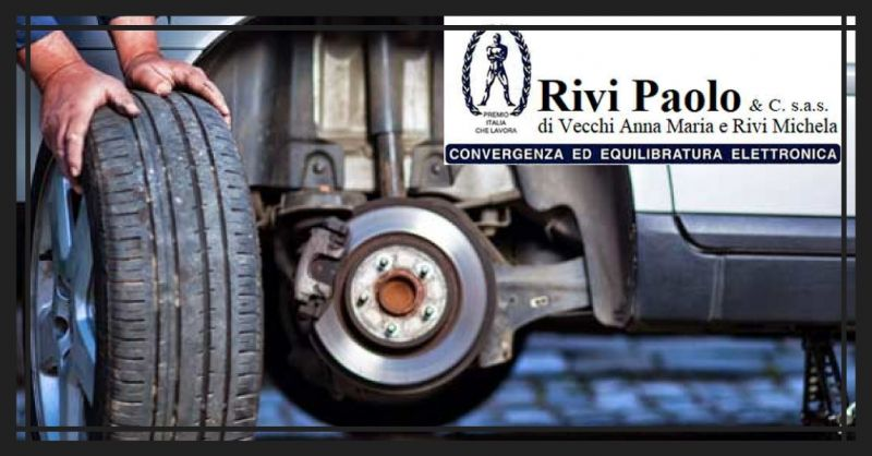 Offerta servizio professionale vendita e montaggio pneumatici Sassuolo - RIVI PAOLO & C. SNC