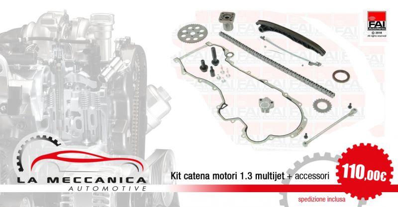 LA MECCANICA SRL - Offerta Kit Catena Distribuzione Motori 1.3 Multi Jet Torino