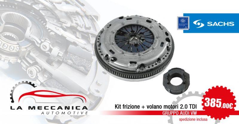 LA MECCANICA SRL - Offerta Kit frizione volano Sachs 2.0 TDI AUDI VW Torino