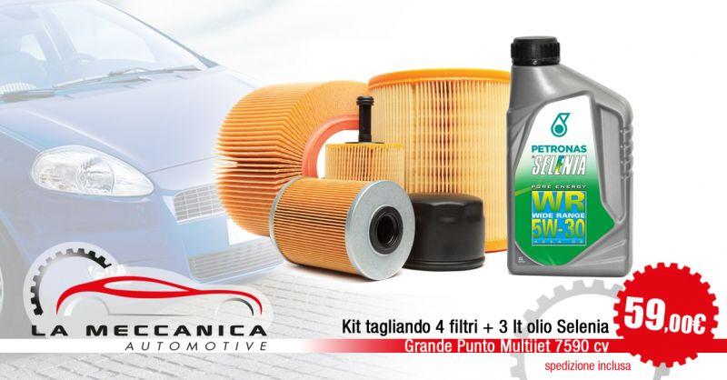 LA MECCANICA SRL - Offerta Kit tagliando Grande Punto Multijet 7590 cv Torino