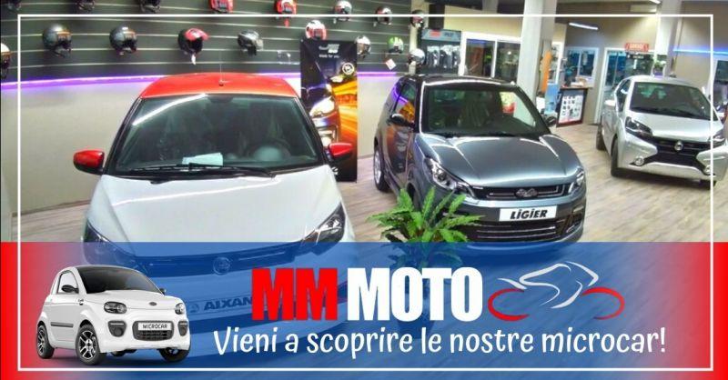 Offerta vendita assistenza microcar - Occasione rivenditore autorizzato moto scooter Prato