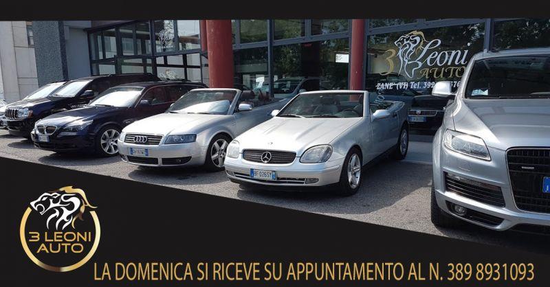 Offerta Vendita di Auto Usate Thiene - Occasione Auto Usate Multimarca Vicenza
