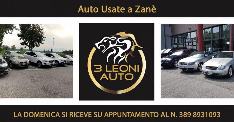 Offerta Concessionarie Auto Usate Zanè - Occasione Vendita automobili usate Garantite Thiene