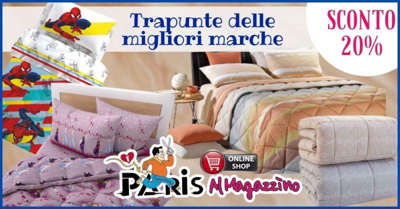 occasione trapunte letto matrimoniale e singolo Lucca - promozione Vendita Biancheria Casa