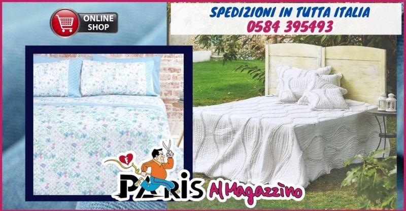 MAGAZZINO PARIS - offerta trapunte e trapuntini estivi Versilia