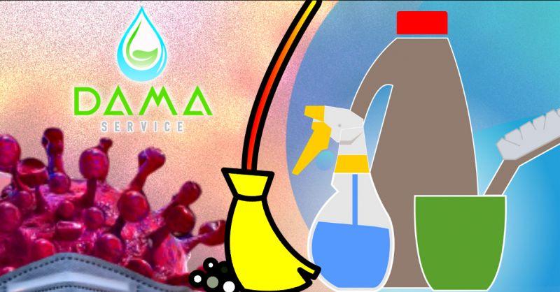 DAMA SERVICE - offerta sanificazione ambienti con prodotti certificati Napoli e provincia