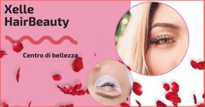 offerta laminazione ciglia e trattamento estetico per ciglia folte xelle hair beauty